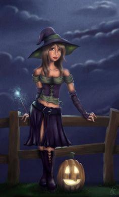 Happy Halloween 07 by LadySilverHawk on DeviantArt