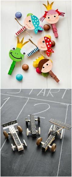 DIY con pinzas