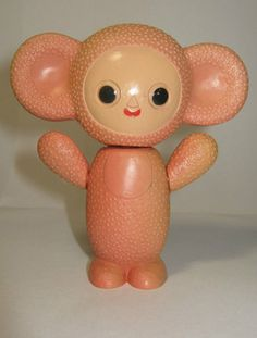 Vintage Russian UCCPT toy...チェブラーシカ!?