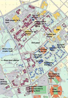 30 best judgmental maps of college campuses images on pinterest virginia tech httptheblacksheeponlinevirginia techthe publicscrutiny Images