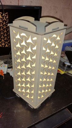 Night lamps made from MDF on a laser engraver... call me if u need +919923700120