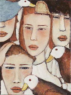 L'univers pictural de Roger Alexandre est animé par des personnages empreints de mysticisme. L'artiste s'exprime par des mises ...
