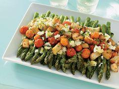 Asparagus & Tomato Salad with Feta