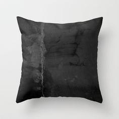 Black Leak pillow by Danielle Fedorshik