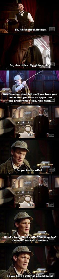 Sherlock Wholmes.
