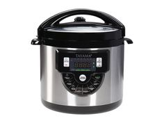 Tayama TMC-60XL 6 quart 8-in-1 Multi-Function Pressure Cooker, Black ** Check this awesome product by going to the link at the image.