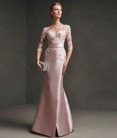 Vestido-para-mae-da-noiva-Casamento-diurno-12 Ceremony Dresses, Prom Dresses, Formal Dresses, Wedding Dresses, Milan Boutique, Occasion Wear Dresses, Designer Gowns, Wedding Styles, Ball Gowns