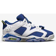 Air Jordan 6 Retro Low (3.5y-7y) Kids' Shoe. Nike.com ($80) ❤ liked on Polyvore featuring jordan 6