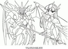 magic knights rayearth coloring pages | Nom du fichier : coloriage_Magic_Knight_Rayearth20.jpgPoids du fichier ...