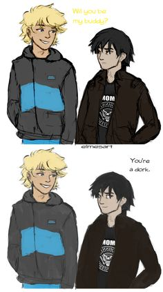 solangelo | Tumblr        I'm already seeing fan art of Trials of Apollo and its only been a week or so....i love this fandom