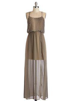 Barcelona Hopping Dress Unique Dresses, Cute Dresses, Dresses Dresses, Safari Outfits, Safari Clothes, Summertime Outfits, Retro Vintage Dresses, Striped Maxi Dresses, Mod Dress