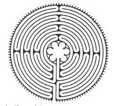 People have been journeying to the Chartres Cathedral labyrinth for almost a thousand years. Historically the Chartres labyrinth was walked as part of a spiritual journey, as a tool for becoming closer to God, or for atonement with the seeker. Labyrinth Walk, Labyrinth Tattoo, Prayer Stations, Walking Meditation, Meditation Garden, Guided Meditation, Ancient Symbols, Sacred Geometry, Prayers