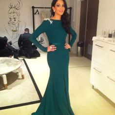 Gorgeous Green gown