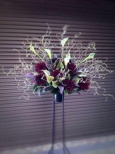 Decorative Arts Vintage Decorative Floral Center & Deco Patterned Stand Compote