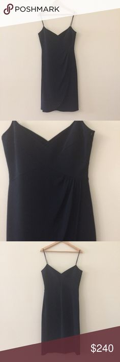 NEW ARMANI COLLEZIONI LITTLE BLACK DRESS SIZE 10 Size 10 NWT Armani Collezioni Dress, originally retailed for $975 - 18' CHEST  16' WAIST  41' LENGTH Armani Collezioni Dresses Mini
