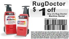 1000 Images About Rug Doctor Rental Coupons On Pinterest