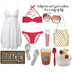 vacation outfit - i love the swimsuit!