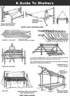 Survival shelter Guide | Posted By: SurvivalofthePrepped.com