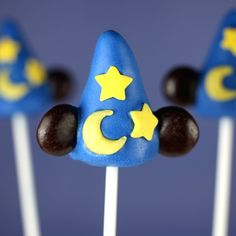24 Amazing Cake Pops Inspired by Disney Characters
