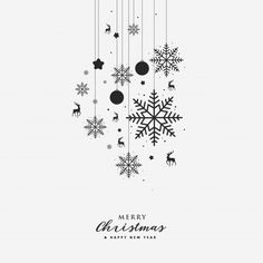 Greeting card with christmas element Premium Vector Diy Christmas Reindeer, Merry Christmas Card, Christmas Design, Xmas Cards, Greeting Cards, Corporate Christmas Cards, Christmas Facebook Cover, Snow Flake Tattoo, Xmas Greetings
