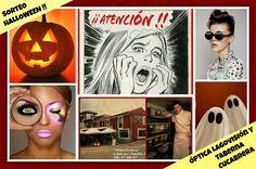 Halloween trae novedades a Óptica Lagovisión de la mano de Taberna Cucabrera !