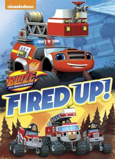 I received the product below to review in exchange for sharing my honest opinion. Blaze and the Monster Machines: Fired Up! Released: July 12, 2016…