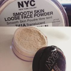 """""""I think I may have found a dupe for the laura mercier setting powder! It looks and feels the same! I bought it cause I ran out of my Ben Nye Cameo powder and I must say I really like it! I used it to bake under my eyes today and I have NO creasing at all 8 hours later ( I think it might even be better than the Ben Nye powder ) the powder is so fine it doesn't look cakey at all! It's only $3 seriously worth every penny! @nyc_new_york_color by stephie.b_"""""""