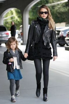 Celebrity Moms and Kids Matching Clothes - Celebrities With their Kids - Harper's BAZAAR