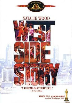 One of my all time Favorites! West Side Story (Natalie Wood, George Chakiris, Richard Beymer) [as far as I'm concerned, this is the best modern Romeo and Juliet musical for me] Natalie Wood, Alfred Hitchcock, Great Films, Good Movies, Love Movie, Movie Tv, West Side Story 1961, Richard Beymer, Russ Tamblyn