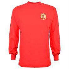 Show details for Spain 1960 Di Stefano Retro Football Shirt Spain Football, Nations Cup, Retro Football Shirts, Embroidered Badges, International Teams, Football Kits, European Football, Vintage Tops, Hoodies