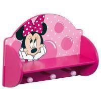 Disney Minnie Mouse Wooden Coat Rack & Shelf - Great Kidsbedrooms Ltd Minnie Mouse Nursery, Minnie Mouse Toys, Coat Rack Shelf, Wooden Coat Rack, Disney Bedrooms, Little Girl Rooms, Kids Furniture, Kids And Parenting, Girls Bedroom