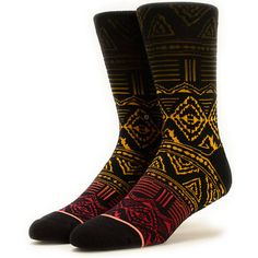 """There's a reason these socks are called """"Good Vibes"""", be it the comfortable combed cotton, or the rasta-inspired jacquard print, one thing is certain these socks will keep the good vibes going."""