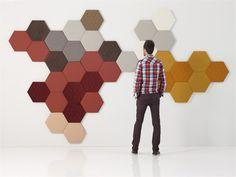 Modular 3D Wall Panel for interior TEA | 3D Wall Panel - SANCAL DISEÑO