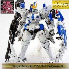 Dragon MoMoko MG 1/100 OZ-00MS Tallgeese 1 2 3 EW Gundam PVC Assembled Hobby Action Figures Plastic Kids Toys With Original Box