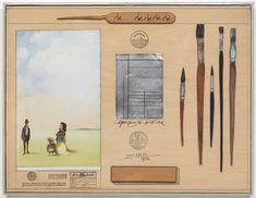 Saul Steinberg Saul Steinberg, Contemporary, Modern, Still Life, Paintings, Drawings, Trendy Tree, Paint, Painting Art