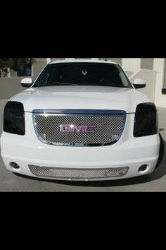 GMC Denali with pink BLING! Want the pink gmc but not the black lights