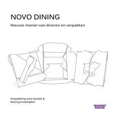 Het afstudeerproject Novo Dining van Lisa de Cler. Lekker warm eten van een bord met bestek doe je in een handomdraai met deze handige maaltijdverpakking.  Meer weten? Ga naar onze website www.remmertdekker.nl
