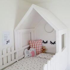 Kura Bed, Bunk Beds, Bunk Bed With Slide, Mermaid Room Decor, Ikea Duktig, Mermaid Bedding, Kids Room Design, House Beds, Little Girl Rooms