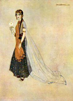 Asenath, by Edmund Dulac