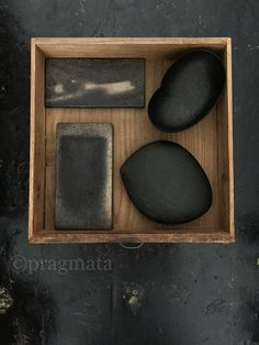"""Heat Contained"" Woodworks by Koyama Gou Ceramic platters by Kumagai Yukiharu…"