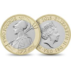 The Definitive 2015 United Kingdom £2 Brilliant Uncirculated Coin | The Royal Mint