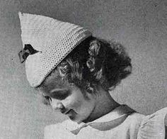 Beret crochet pattern originally published in Gifts to Crochet and Knit, Book 94. #crochet #hatpatterns