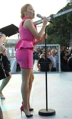 Kylie Minogue Tour, Kyle Minogue, Celebrities In Stockings, Girl Celebrities, Celebs, Sexy Older Women, Sexy Women, Hot Tattoo Girls, Women In Music