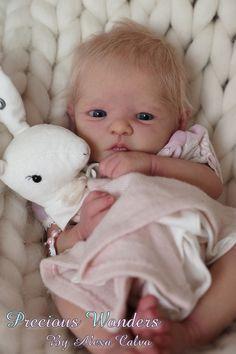Precious Wonders -Reborn Baby girl PROTOTYPE Lilith by Heike Kolpin IIORA member