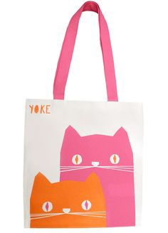 Ronnie & Frank tote by Yoke at Totes Amazed £15.00