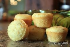 b. organic : Recipe for dog treat corn muffins from Three Dog Bakery Cookbook