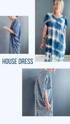 Uk Fashion, Ethical Fashion, The Beach People, Indigo Colour, Tie Dye Patterns, House Dress, Shibori, Style Inspiration, Mall