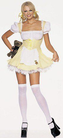 Goldilocks Sexy Holiday Party Costume « Clothing Impulse