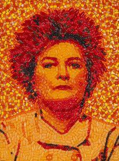 JASON MECIER'S 'CANDYLEBRITY' SHOWCASES SWEET CELEBRITY PORTRAITS #OITNB #KateMulgrew #Red http://abc7.com/140803/