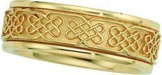 14K Yellow Gold Men's Wedding Band.    http://www.thediamondstore.com/products/men's-wedding-rings/14k-yellow-gold-mens-wedding-band-%7C-50385/7-600